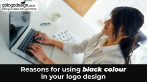 Reasons for using black colour in your logo design