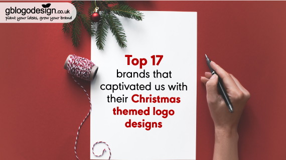 Top 17 Brands That Captivated Us With Their Xmas-Themed Logo Designs
