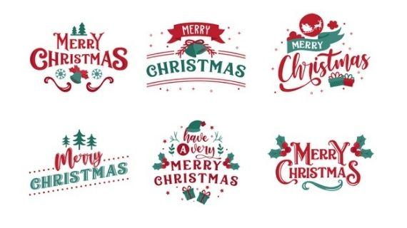 Christmas Themed Logo Designs